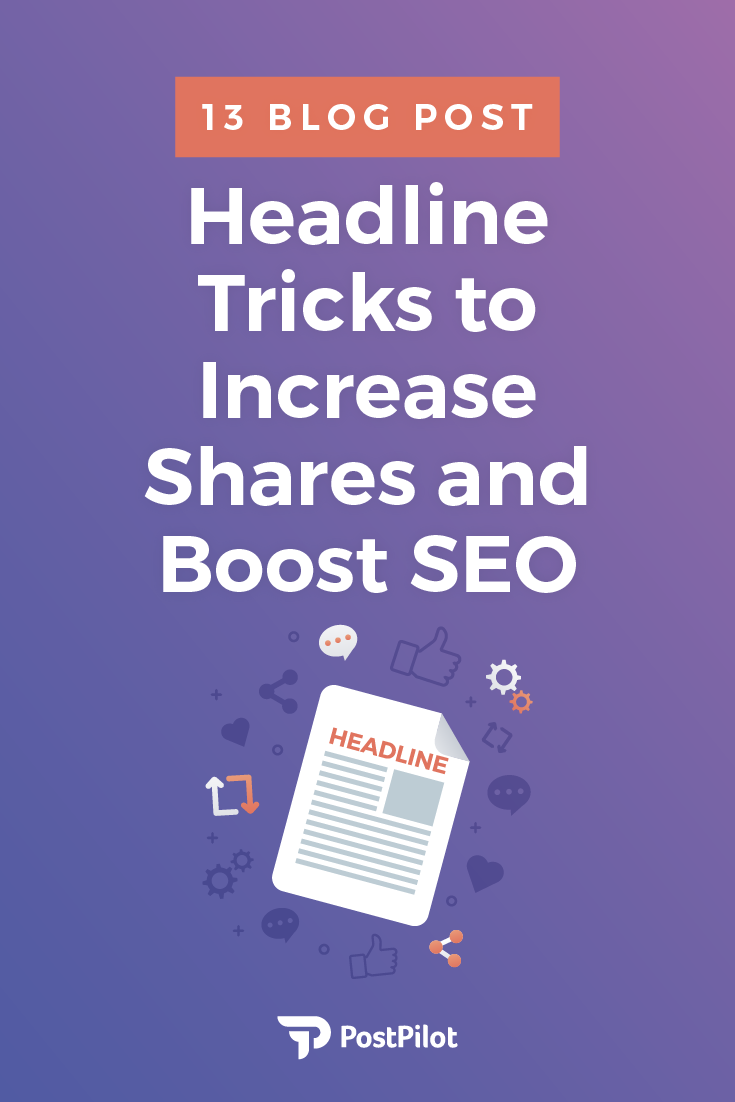 How to become a headline ninja in no time with 13 of the most effective headline tricks, vetted by experts. Increase blog post shares and boost SEO...