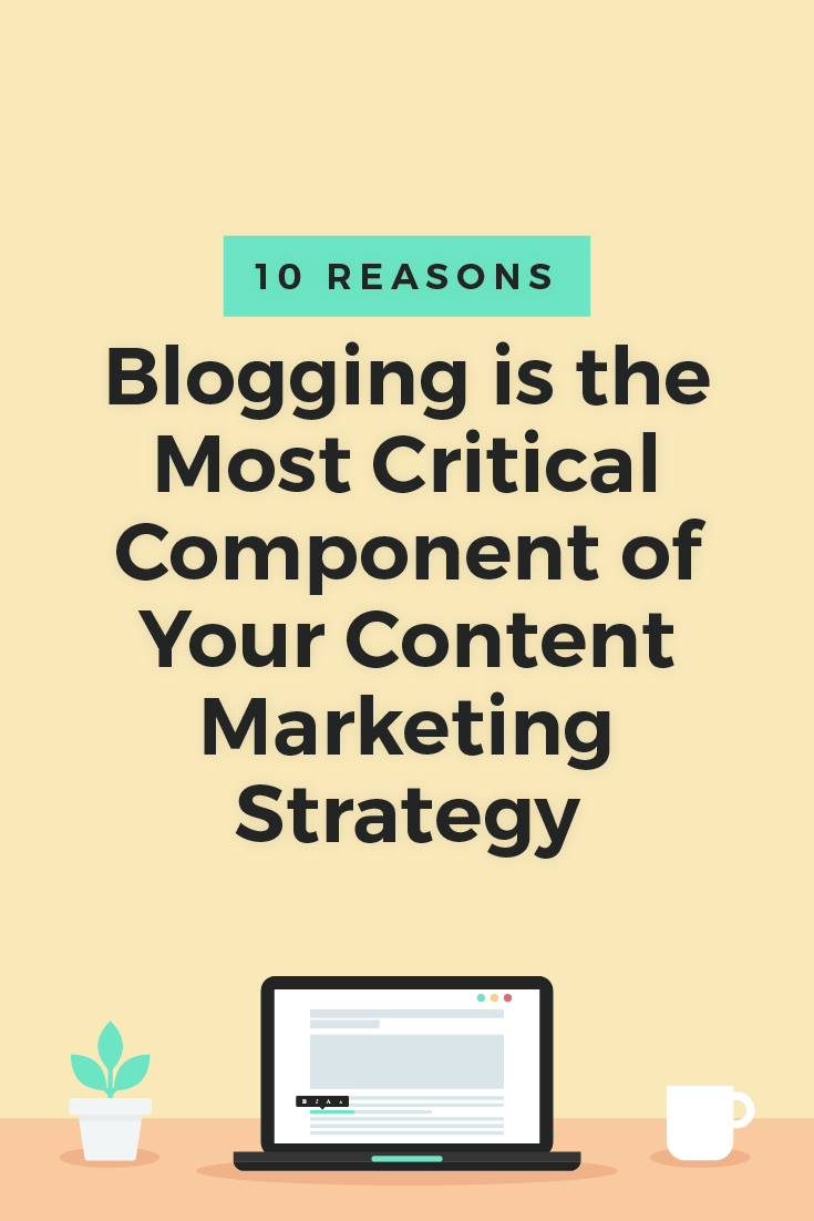 Blogging is one of the most effective ways to increase awareness and recognition of your brand, strengthen your brand's relationship with consumers, and generate sales and profits for your business.