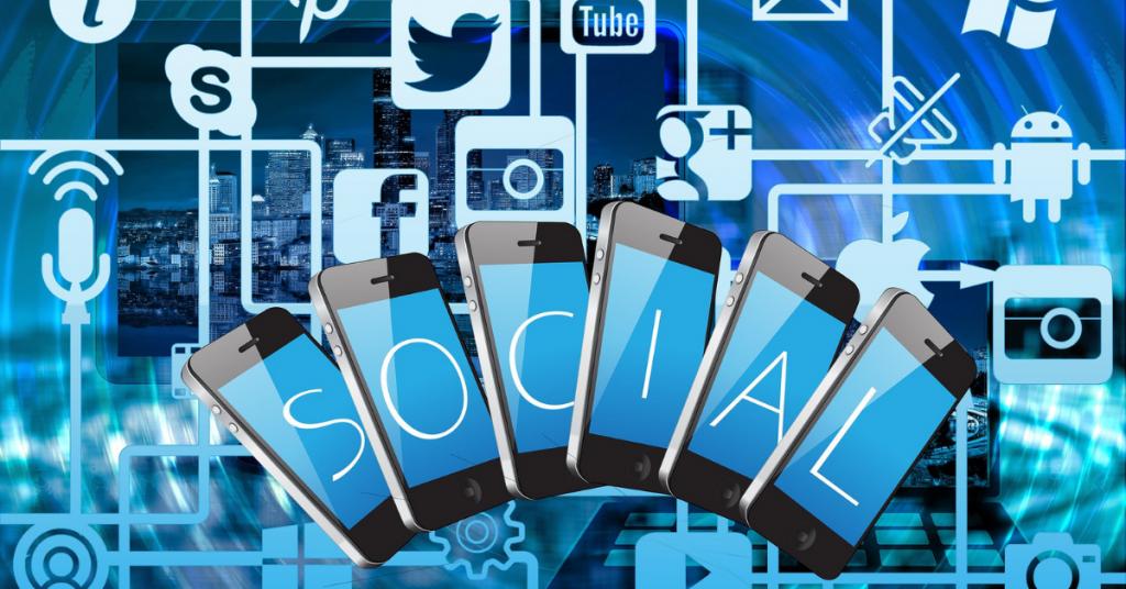blog post social media sharing