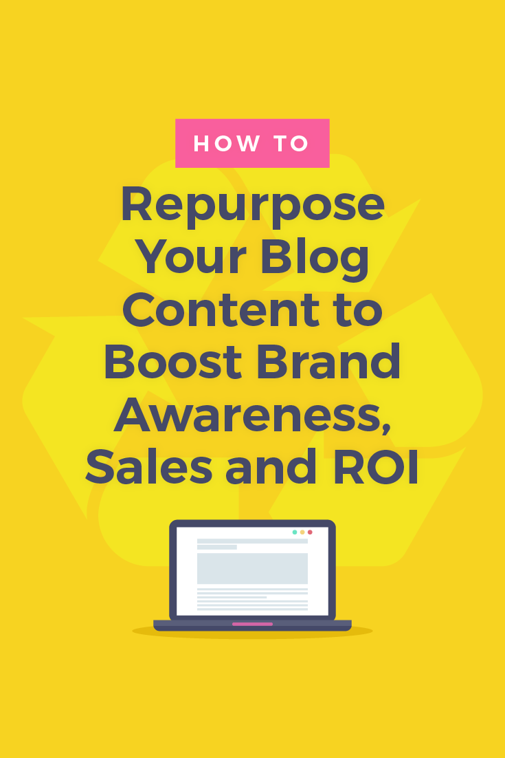 Repurposing blog content is so important because blog posts and social media posts (and all content you create) work hand-in-hand. They\'re stronger together.