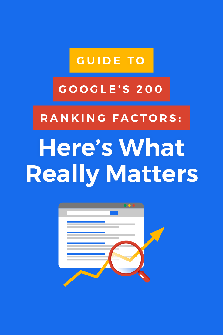 There are over 200 Google ranking factors that affect where your web pages land on Google search results pages and 66 of them are related to linking.