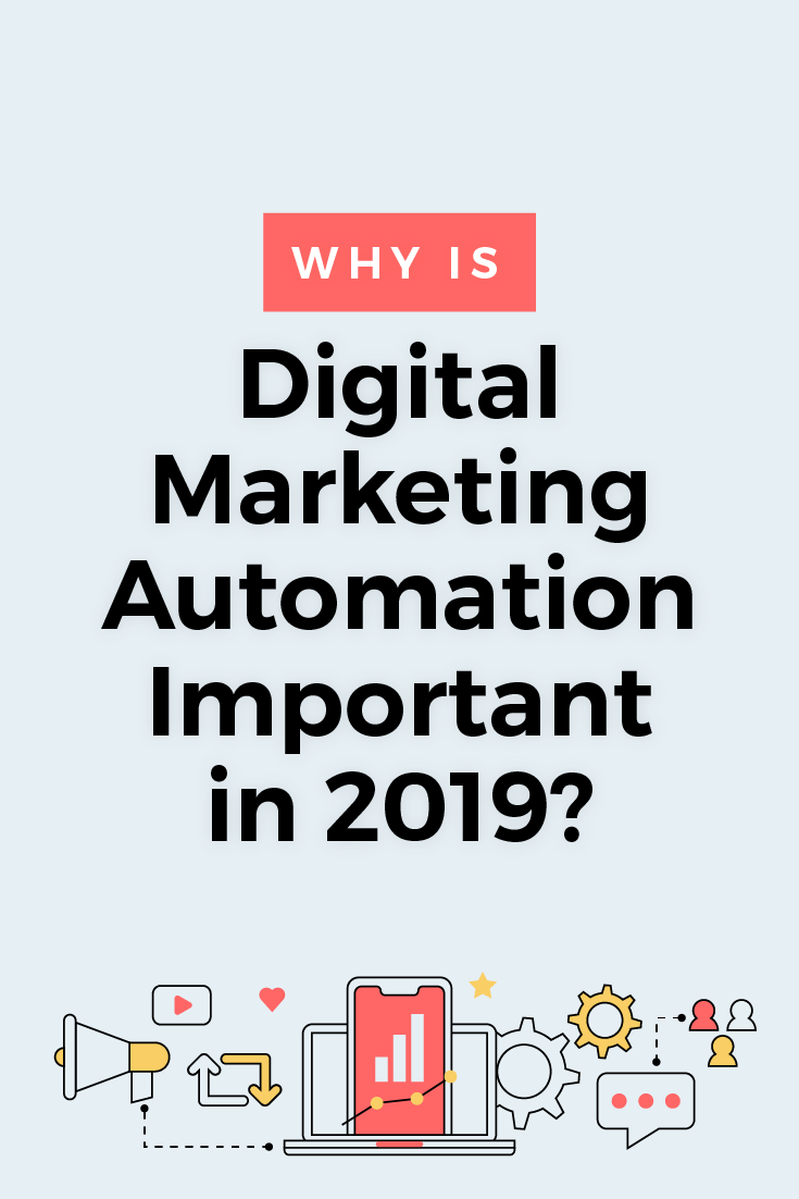 Digital marketing automation uses software to make marketing more efficient. Find out why digital marketing automation is a necessity in 2019...