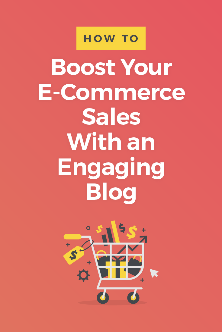 Blogging is important to boost e-commerce sales. Every e-commerce business needs to have a blog – regardless of what kinds of products they're selling. Here\'s why...