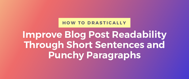 Improve Blog Post Readability Featured